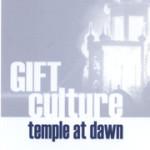 gift culture postcard back