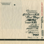 LUST MURDER BOX : the new divine back cover