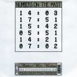 NUMBERS ON THE MAST : notm back cover